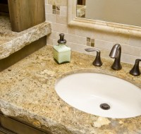 Granite Rough Cut Vanity Top Houston