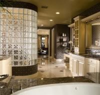 Contemporary New Construction Bath Houston