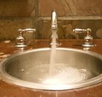 Marble Drop Vanity Sink Houston