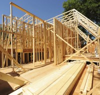 Framing of Home New Construction Houston