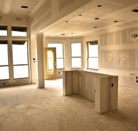 New Construction Drywall of Luxury Home Houston
