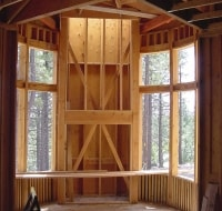 New Construction Interior Framing Home Houston