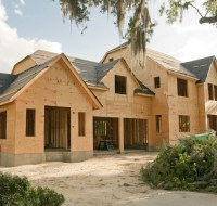 New Luxury Home Construction Framing Houston