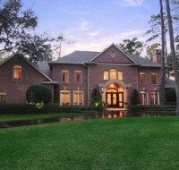 Traditional Brick Elevation Houstion