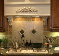 Ceramic and Oak Remodeled Kitchen Houston