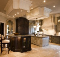 New Construction Old World Cabinetry and Granite Kitchen Houston TX
