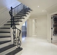New Construction of Foyer Entry and Wine Cellar Houston