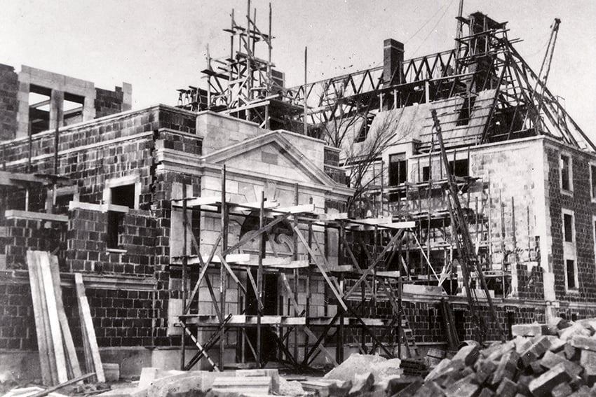 A Historic Look at Luxury Builders