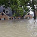 Houston Flooded Home